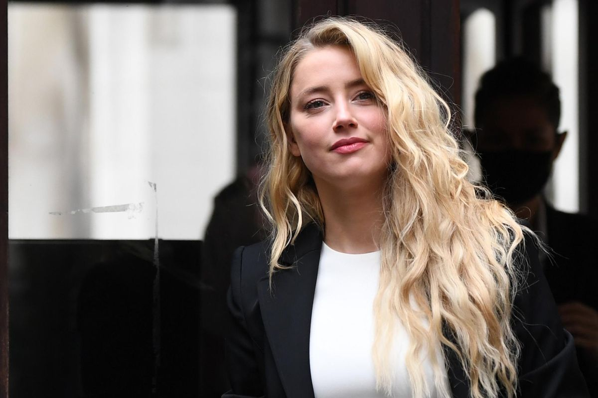 Amber Heard weighs in on Marilyn Manson allegations, accuses Hollywood of negating abusive behavior