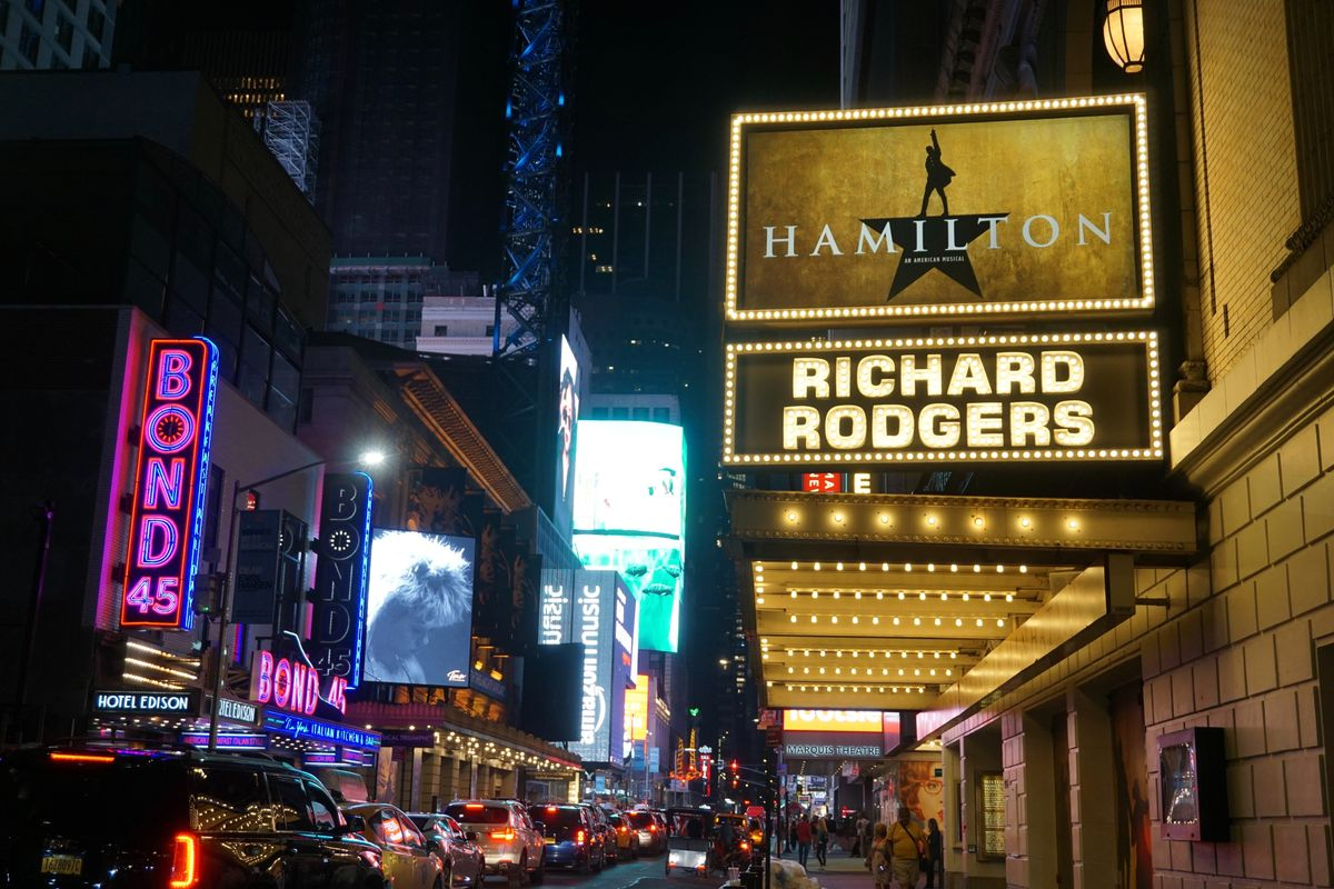 'Hamilton' is MORE than Jonathan Groff's spit