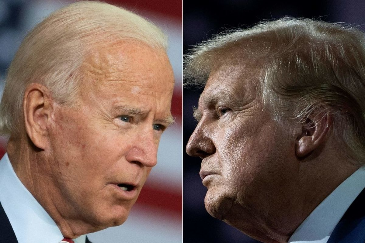 Trump and Biden face-off in tonight's presidential debate. I'm unsure of the outcome