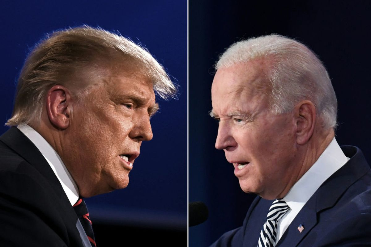 Joe Biden did exactly what he needed to in that utterly chaotic debate
