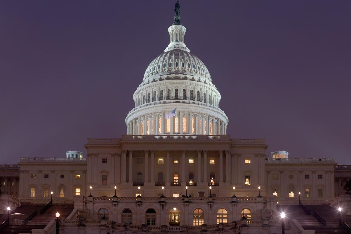 The tragedy and irony of the storm on the U.S. Capitol