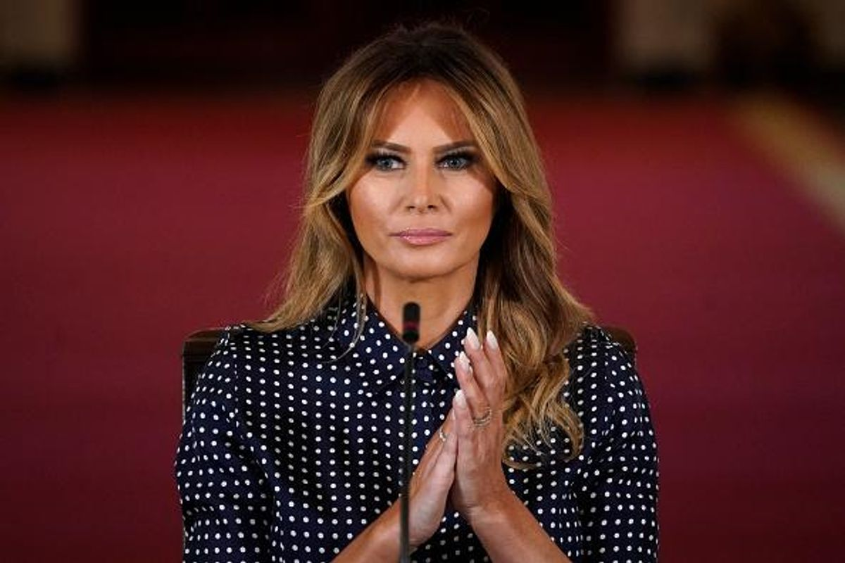Contradiction in its purest form. Melania Trump's 'Be Best' Twitter video sparks debate