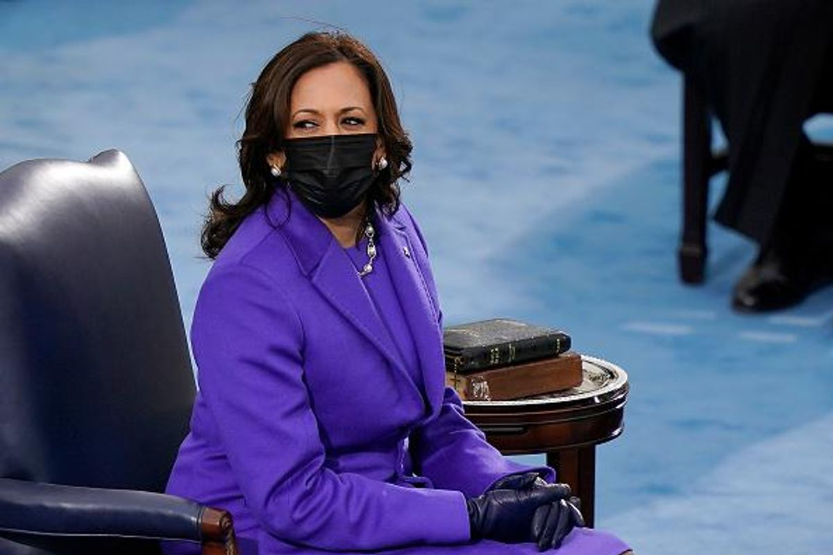 Why Vice President Kamala Harris' inauguration outfit meant so much to me