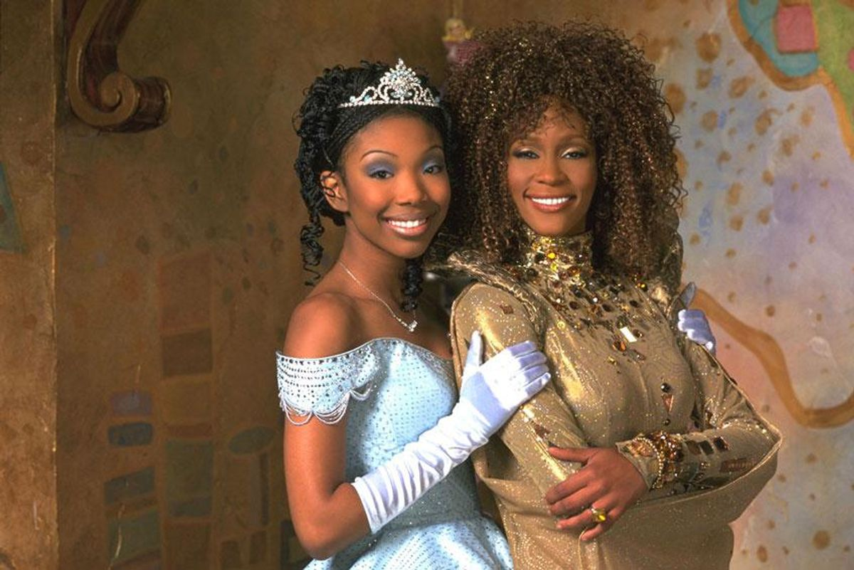Finally! Brandy and Whitney Houston's dazzling 'Cinderella' is comingto Disney+