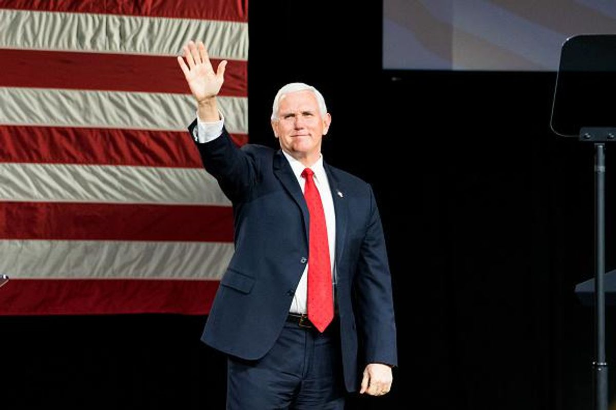 Mike Pence working with Young America's Foundation to launch a podcast for young people sounds right up his alley