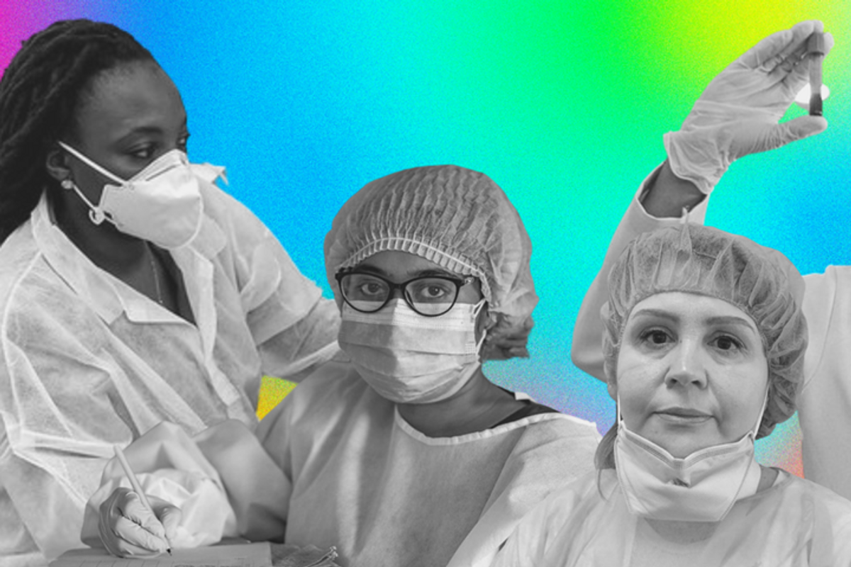 How women in science are making a difference during the pandemic