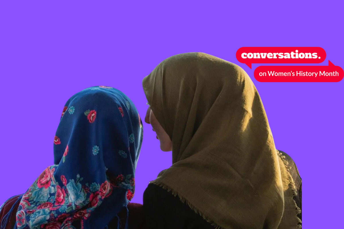 When will female Muslim achievement ever be acknowledged, praised and encouraged?