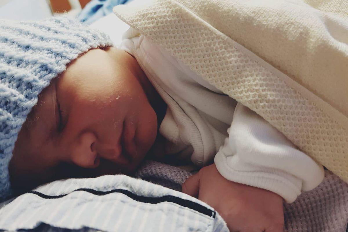 My William as a newborn