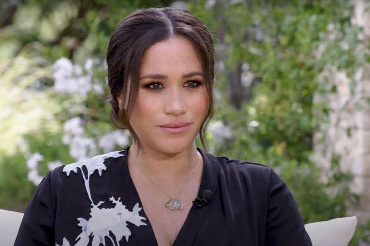 Meghan saying she had suicidal thoughts during Oprah interview was more than revealing. It was heartbreaking.