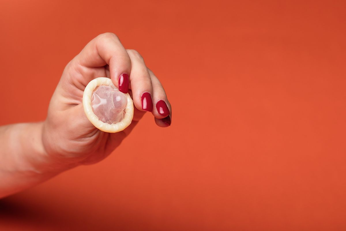 Yes, you can still contract an STI when using a condom. Here's how