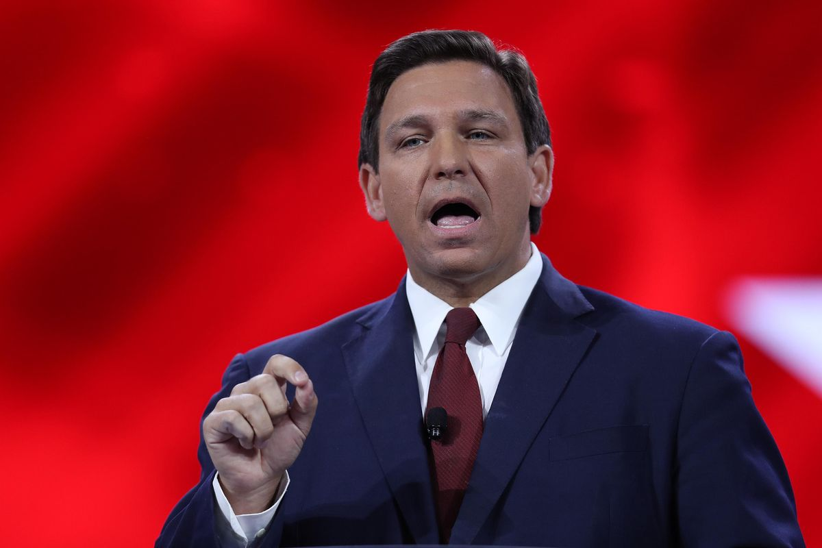 Governor Ron DeSantis doesn't seem to understand the critical race theory