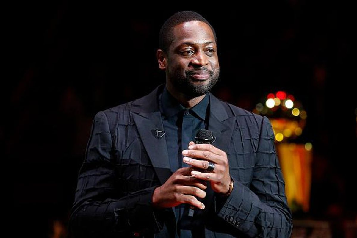 Dwayne Wade expertly handles comments about his daughter Zaya