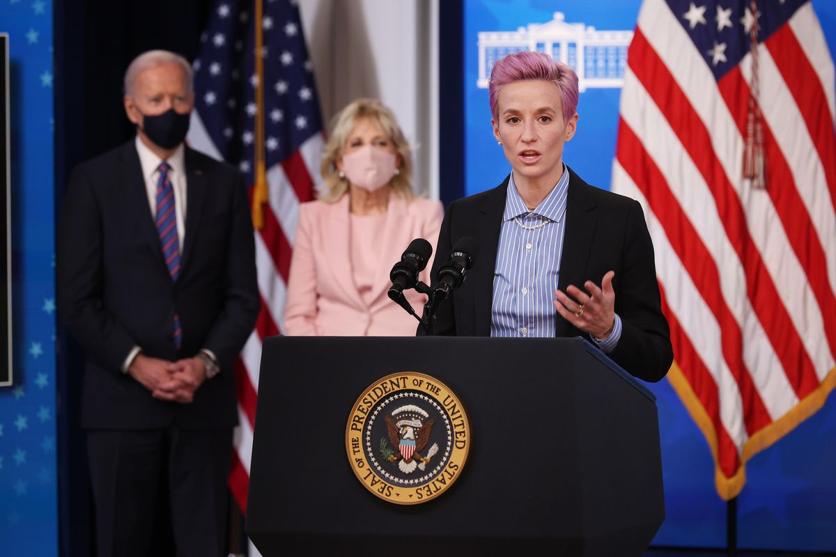 Megan Rapinoe continues the fight for equal pay, sheds light on NCAA inequalities before Congress