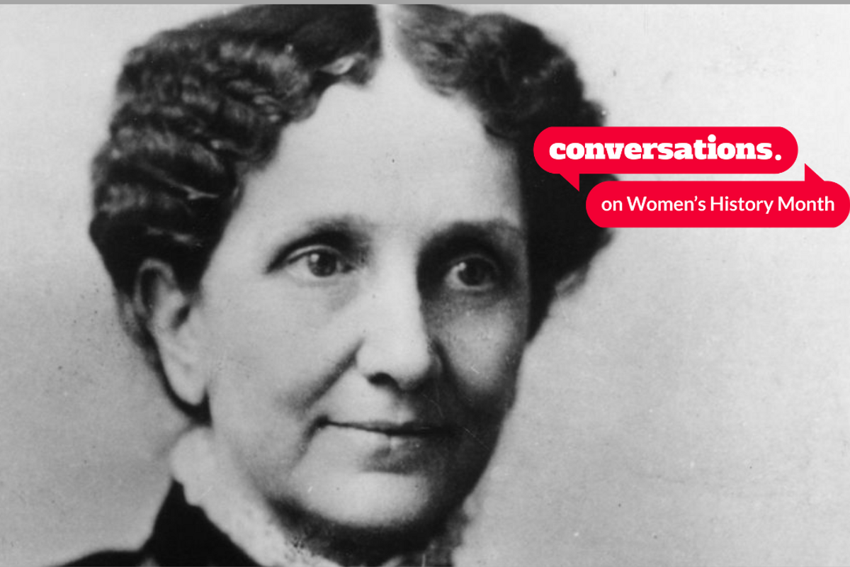 Who is Mary Baker Eddy and how did she contribute to female liberation?