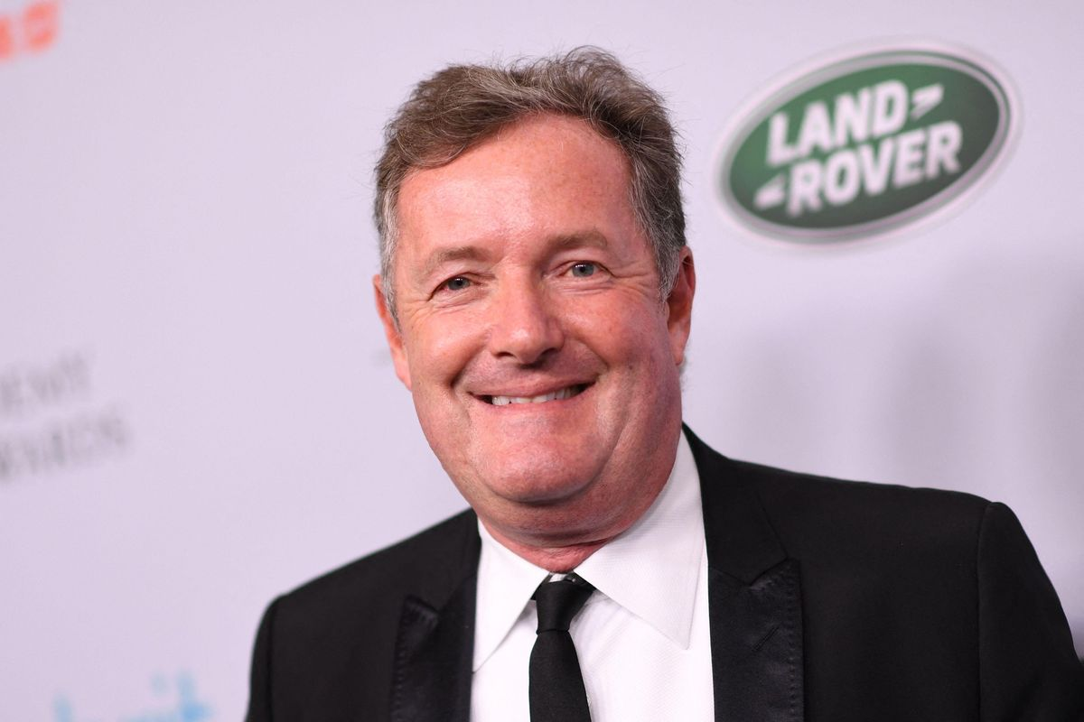 The Piers Morgan news was a bizarre learning curve