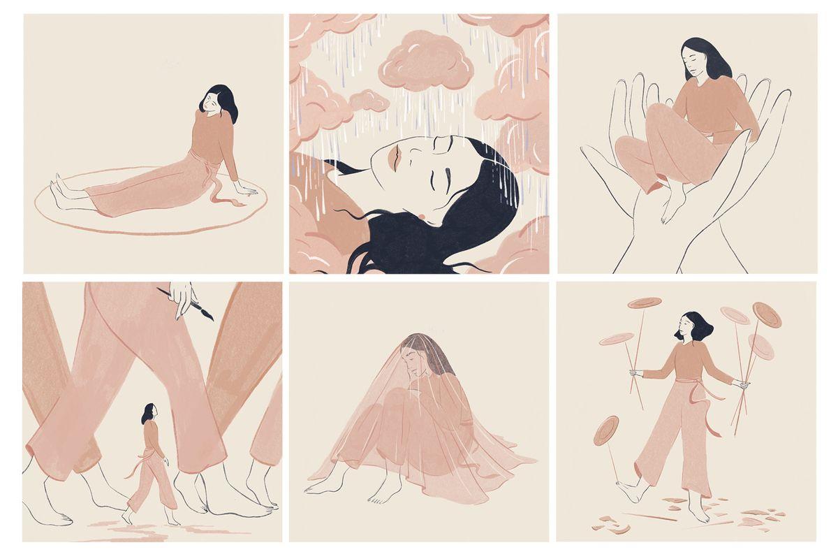 How drawing my feelings helped my mental health through lockdown