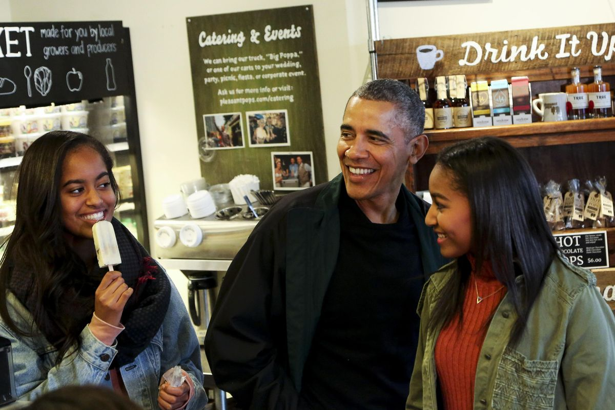 Barack Obama's discussing toxic masculinity with his daughters is the best thing I've read all day